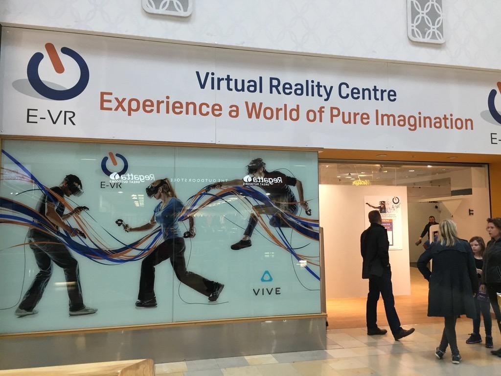 From Twitter: VR Arcades in Edinburgh