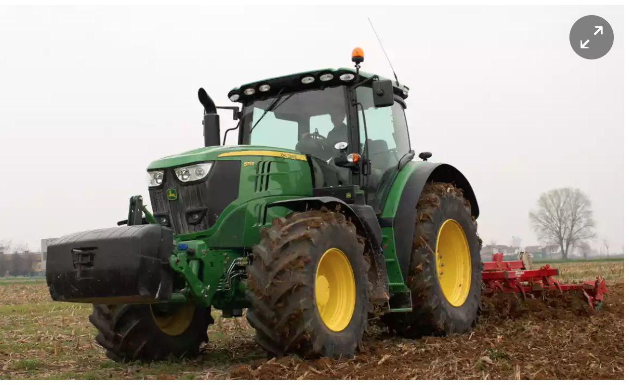 Image of a very fancy tractor
