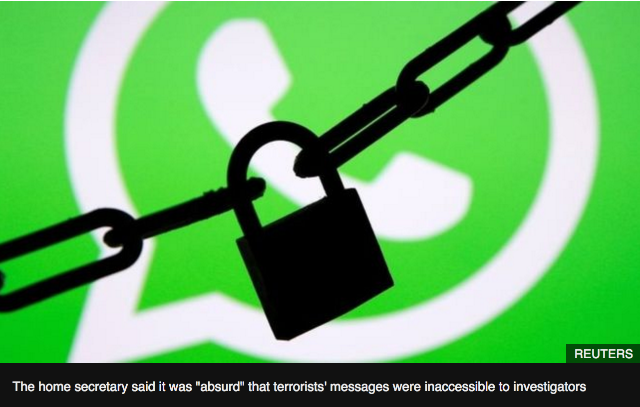 a silhouette of a padlock on a green whatsapp logo of a telephone