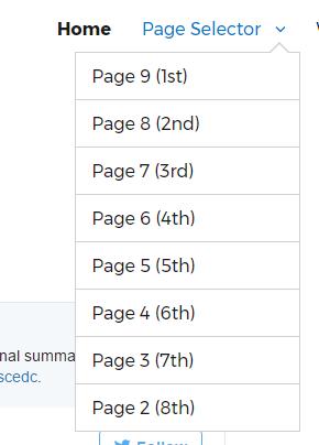 Meta: Page Selector